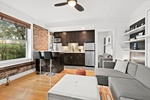 Renovated Treetop Studio in Brooklyn Heights